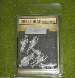 GREAT WAR MINIATURES British Command Group 1918 28mm B009