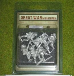 GREAT WAR MINIATURES British Infantry in Gasmasks 1918 B4