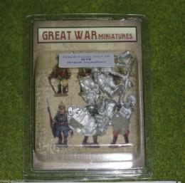 GREAT WAR MINIATURES British Signallers B15 28mm