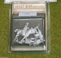GREAT WAR MINIATURES British Staff Officers 1914 B109