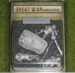 GREAT WAR MINIATURES British Toffee apple mortar B19