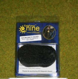 Gale Force Nine GF9 MAGNETIC BASES 40mm x 75mm PILL BASES pack of 6 GFB240 D