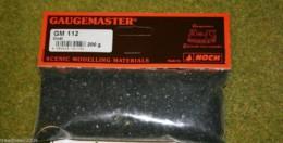 Gaugemaster COAL Ballast  Modelling Flock 200gms Bag GM112