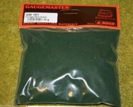 Gaugemaster DARK GREEN FOLIAGE or Modelling Flock 30gms Bag GM151