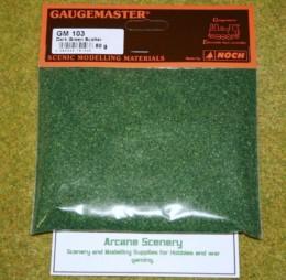 Gaugemaster DARK GREEN Scatter or Modelling Flock 50gms bag GM103