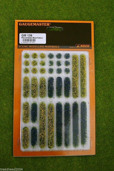 Gaugemaster FLOWER BEDS Yellow/Blue GM139