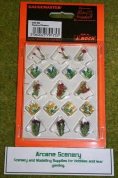 Gaugemaster GARDEN FLOWERS  GM175