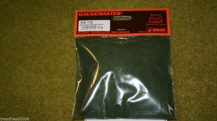 Gaugemaster MOORLAND GRASS FLOCK or STATIC GRASS /Hairy Grass 30gms bag GM172