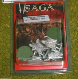 SA03 ANGLO-DANISH HUSCARLS w. SPEARS Gripping Beast Saga 28mm