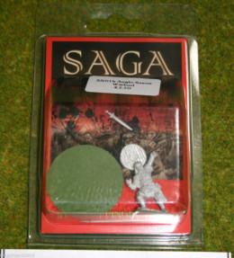 Gripping Beast Saga ANGLO SAXON WARLORD SX01b 28mm Metal Figure