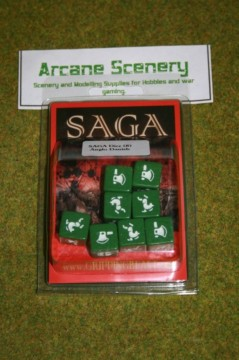 Saga Dice ANGLO DANISH DICE SET Gripping Beast