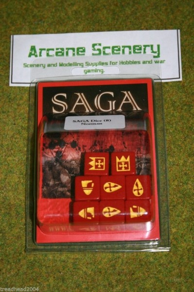 Saga Dice NORMAN DICE SET Gripping Beast