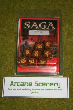 Saga Dice SCOTS & IRISH DICE SET Gripping Beast
