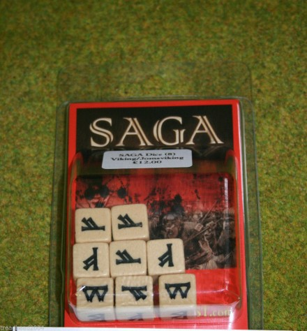 Saga Dice VIKING DICE SET Gripping Beast