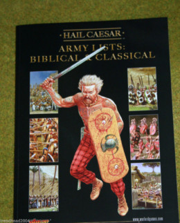 HAIL CAESAR ARMY LISTS- VOLUME 1: BIBLICAL & CLASSICAL from WARLORD games
