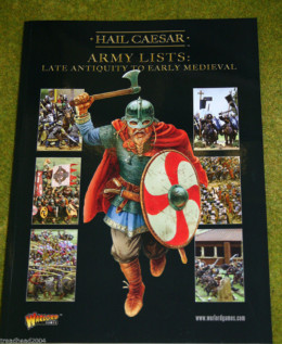 HAIL CAESAR ARMY LISTS- VOLUME 2: LATE ANTIQUITY TO EARLY MEDIEVAL