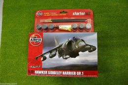 HAWKER SIDELEY HARRIER  GR.1  1/72  Airfix Starter set 55205
