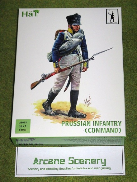 HaT PRUSSIAN INFANTRY COMMAND 28mm 28015