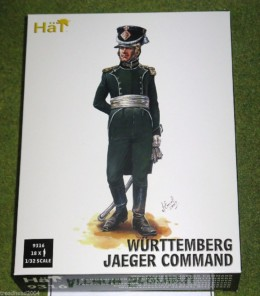 HaT WURTTEMBERG JAEGER COMMAND 1/32 SCALE 9316