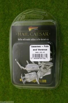 Hail Caesar Caesarians Pullo and Vorenus, Heroes of Rome Warlord Games 28mm