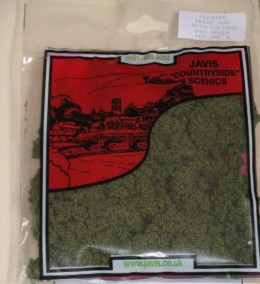 Hedge & Bush Foliage Mid Green Javis Scenics JHF2
