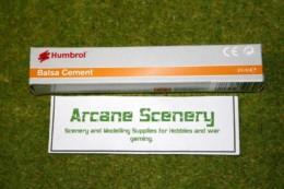 Humbrol BALSA CEMENT or GLUE Scenery & terrain Adhesive 24mls tube