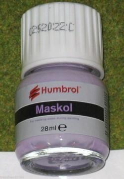 Humbrol MASKOL liquid masking tape 28gms bottle