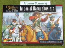 IMPERIAL HARQUEBUSIERS Warlord Games Pike & Shotte 28mm