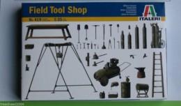 Italeri 1:35 Scale FIELD TOOL SHOP Dioramas Kit 419