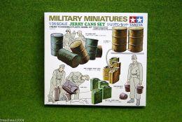 JERRY CANS set for Dioramas & Terrain Tamiya 1/35 kit 35026