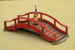 Japan BRIDGE – SAMURAI / JAPANESE 28mm – Laser cut MDF Building B006