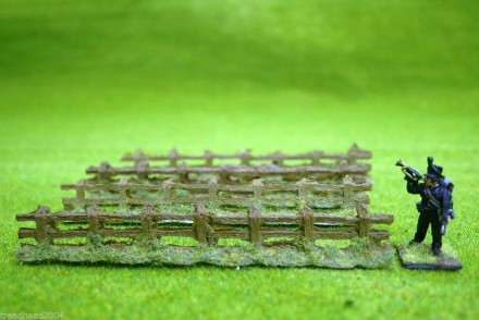 Javis Countryside scenics ROUGH COUNTRY FENCING  1/72nd scale to 28mm PF1