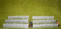 Javis ROUGH ROADSIDE WALLING PACK OF 6 Walls 28mm O Gauge PW1BULKG