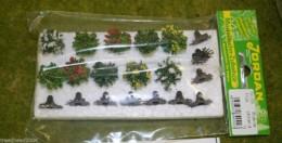 Jordan pack of 10 FLOWERING BUSHES 9B wargames Scenery 59507