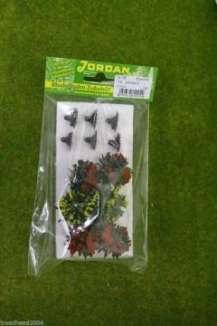 Jordan pack of 6  LARGE FLOWERING BUSHES wargames Scenery & Terrain Nr.9E