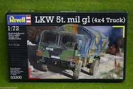 LKW 5t. Mil gl 4×4 Truck 1/72 Scale Revell Kit 3300