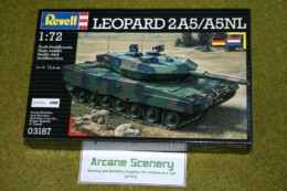 Leopard 2 A5/A5NL  MBT 1/72 Scale Revell Military Kit 3187