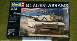 M1 A1 (HA) ABRAMS Main Battle Tank 1/72 Revell kit 3112