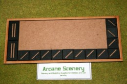 MDF laser cut MOVEMENT TRAY (10×4) 25mm Infantry Bases or (10 x2) Cavalry Bases