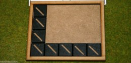 MDF laser cut MOVEMENT TRAY (5×4) 20mm Infantry Bases