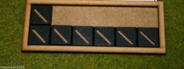 MDF laser cut MOVEMENT TRAY (6×2) 20mm Infantry Bases