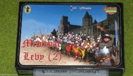 MEDIEVAL LEVY (2) 1/72 Strelets miniset M006