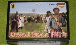 MEDIEVAL RUSSIAN MILITIA 1/72 Strelets M048