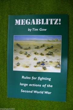 MEGABLITZ by Tim Gow WW2 Miniature Wargames Rules