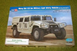 MENG SHI 1.5 Ton Military Light Vehicle PLA  1/35 Scale Hobby Boss 82468