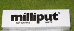 Milliput WHITE SUPERFINE PUTTY, FILLER Model Tools