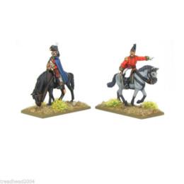 British Mounted Colonels – Peninsular Black Powder Napoleonic Wars 28mm