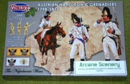 Victrix AUSTRIAN NAPOLEONIC GRENADIERS 1798 – 1815 28mm plastic VX0013
