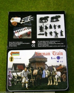 Norman Train –  Baggage train 1/72 Scale Strelets 128