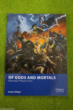 Osprey OF GODS AND MORTALS Mythological Skirmish wargames rules